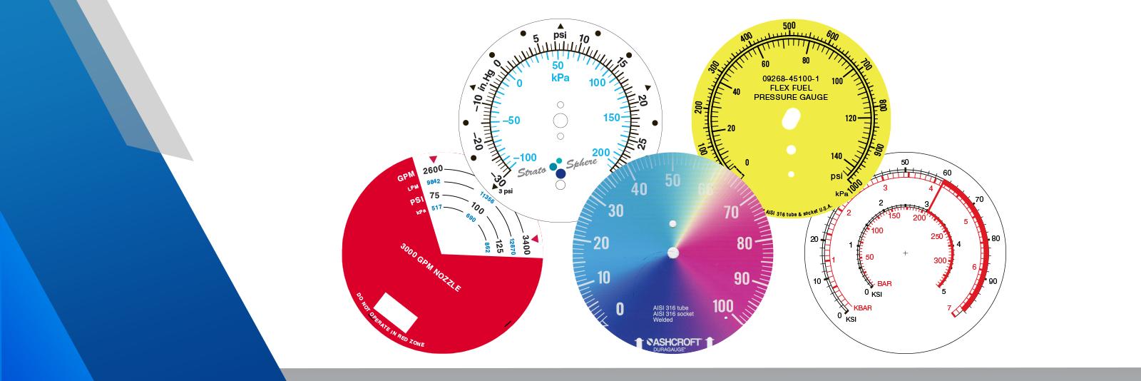 How Can I Order Custom Dials for Pressure Gauges?