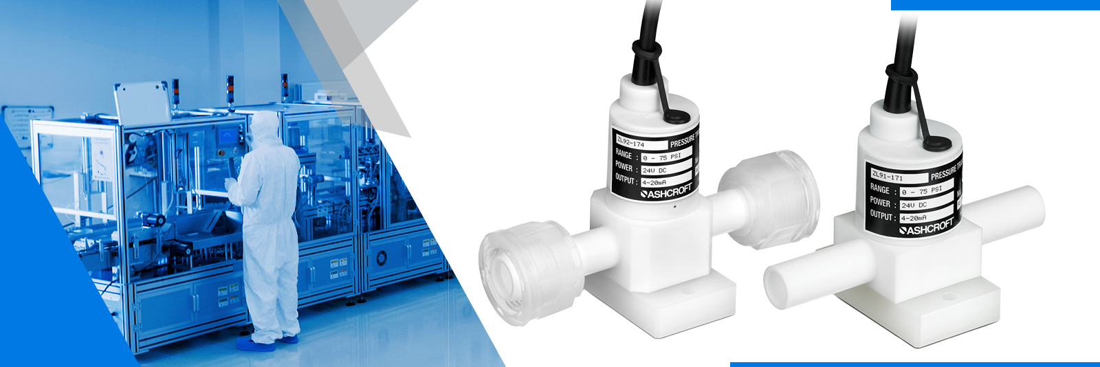 Product Review: ZL91 and ZL92 Pressure Transducer for Semiconductor Applications